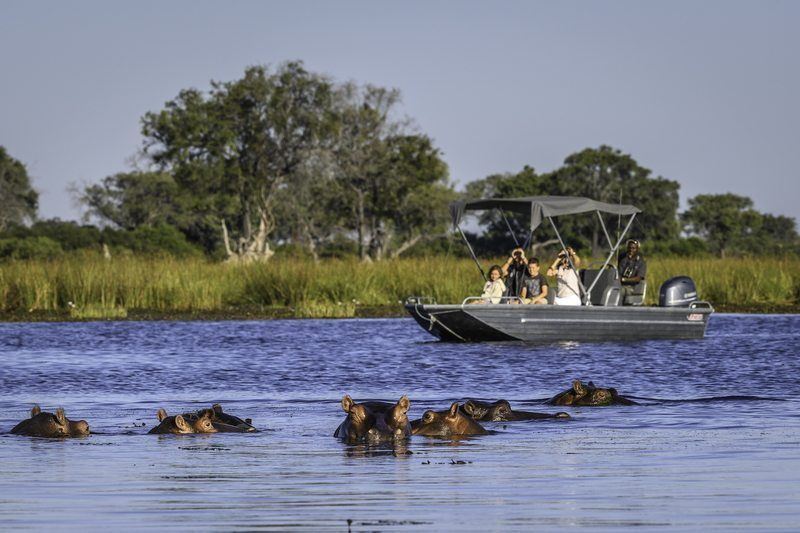 Vumbura Boat Safari – Okavango Delta Botswana, Lodge Safaris, Tailor-Made Safaris, Privately Guided Safaris & Explorations