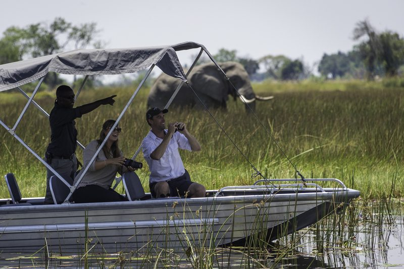 Vumbura Camp Boating Safari - Botswana, Lodge Safaris, Tailor-Made Safaris, Privately Guided Safaris & Explorations