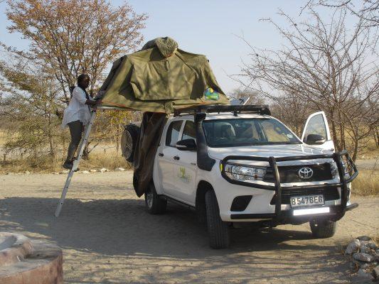 4x4 Self-Drive Camping – Makgadikgadi Pan Botswana