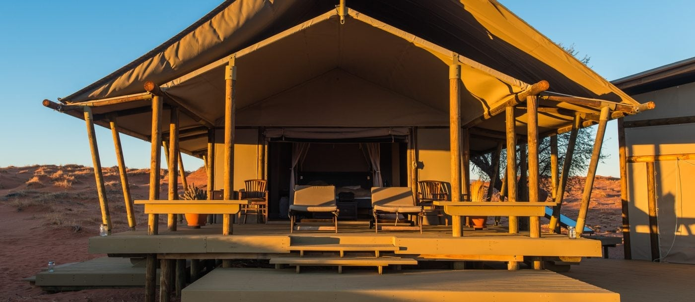 Chalet Wolwedans Dunes Desert Lodge Namibia - Self-Drive, Bestoke & Fly-in Safaris, Guided Explorations & Privately Guided Safaris