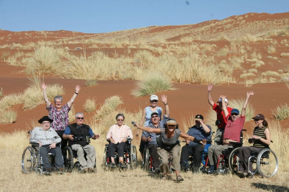 Safaris for the Physically Disabled Namibia - Sasiani African Safaris
