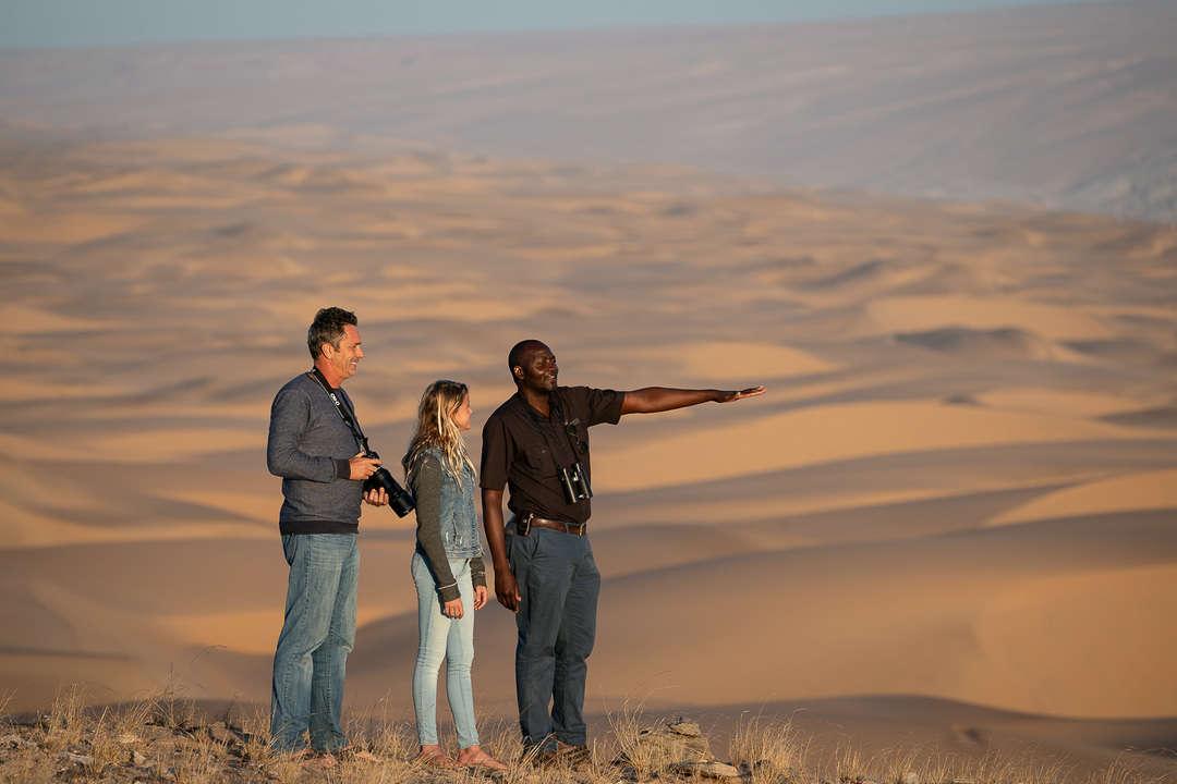 Guided Safari in the Namib Desert