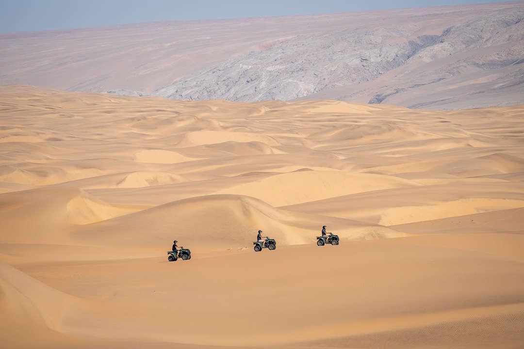 Quad Bike Riding in the Namib Desert