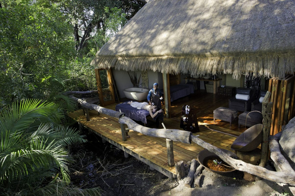 Joa Health Spa in the tranquillity of the Okavango Delta Botswana
