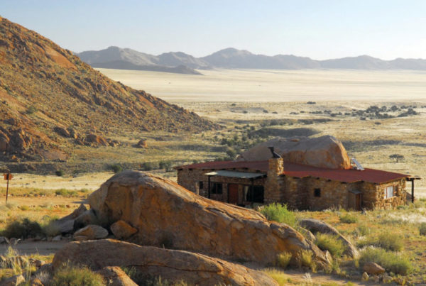 An Eagle Nest chalet - Namibia