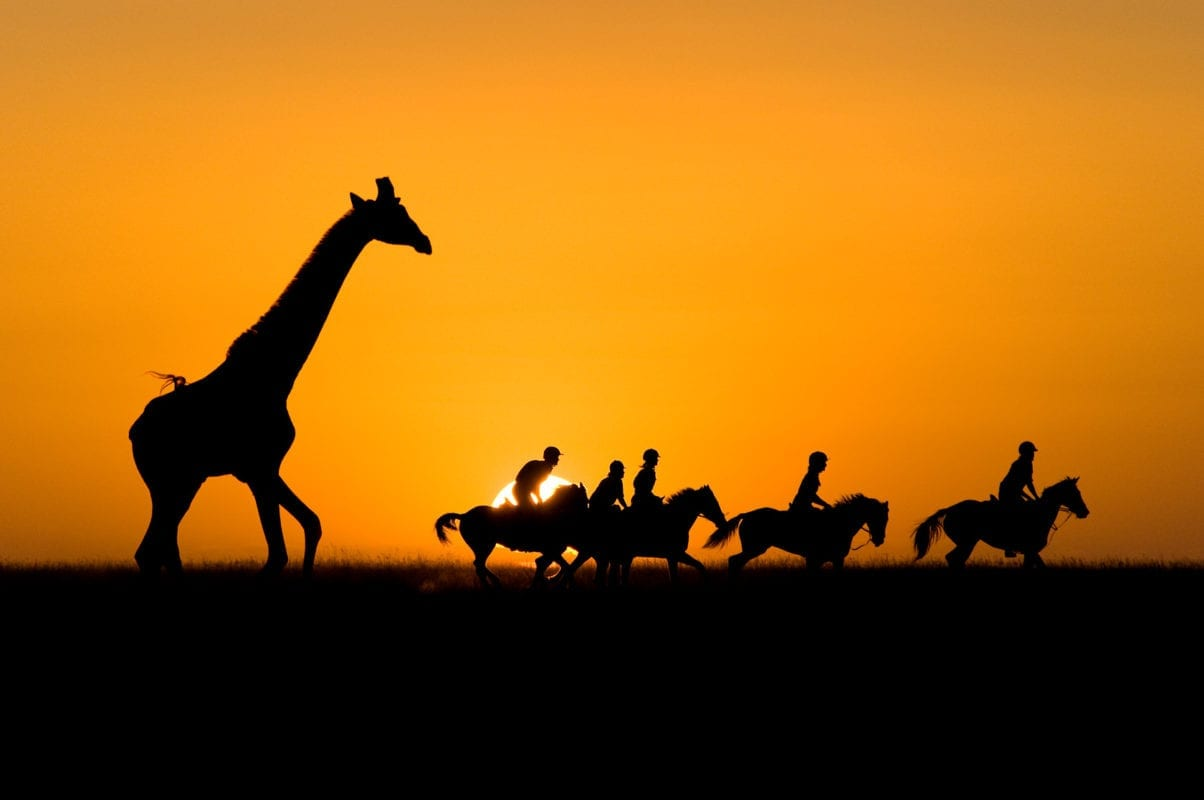 Sunset Horse Ride on the Kenyan Plains - Sasiani African Safaris