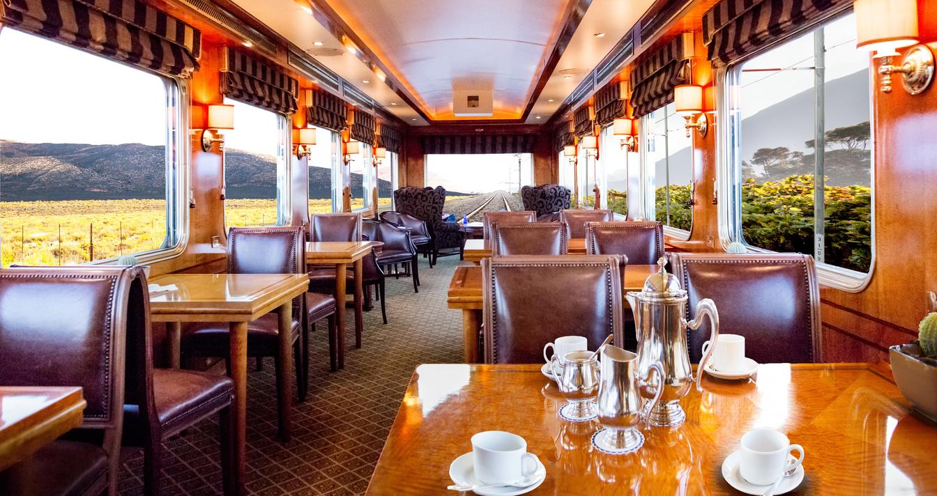 The Observatory Carriage of the Blue Train