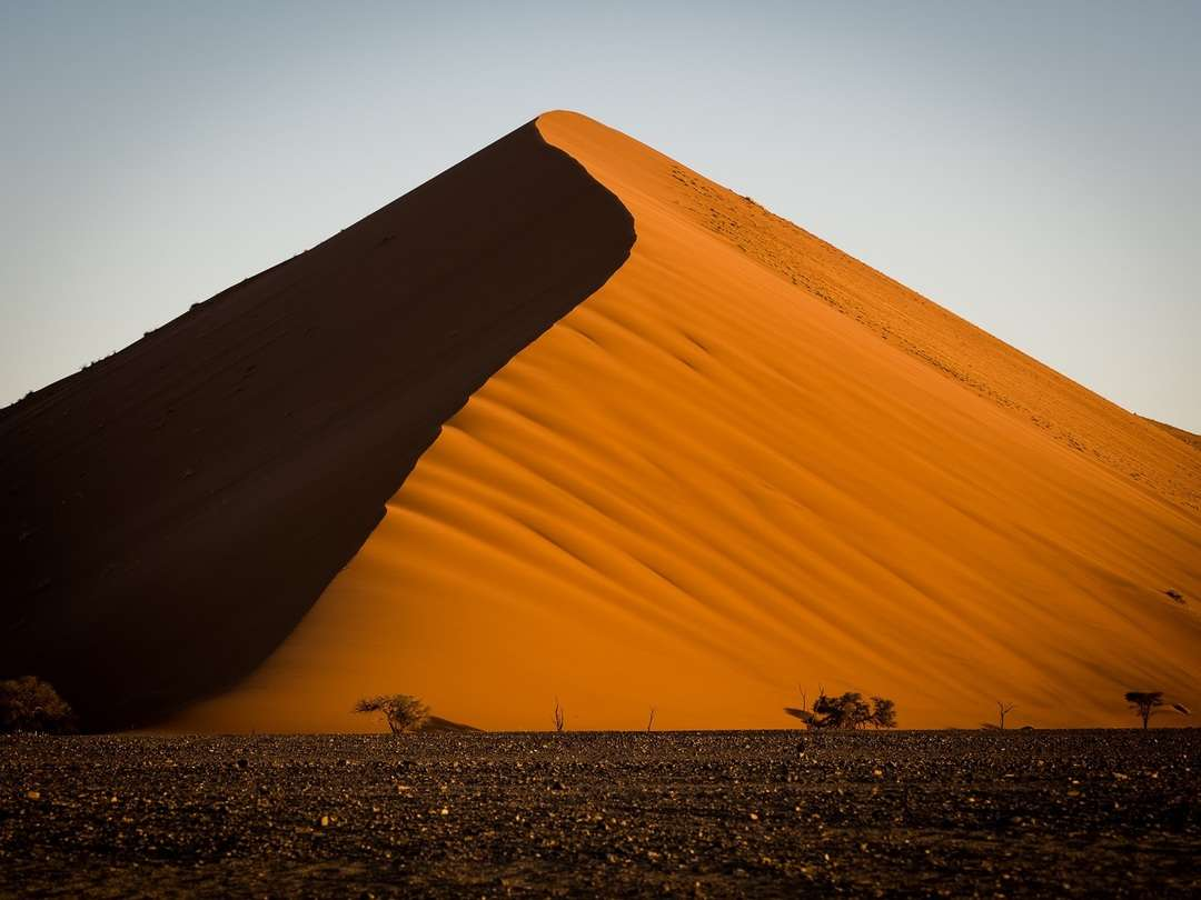 Big Daddy with sunset setting - Namibia