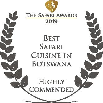 Letaka Best Safari Cuisine In Botswana Award