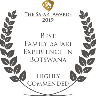 Letaka award for Best Family Safari Experience in Botswana